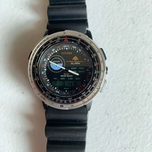 Rare* Vintage Citizen wingman Promaster watch